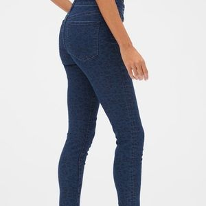 Gap 1969 Always Skinny Leopard Print Jeans